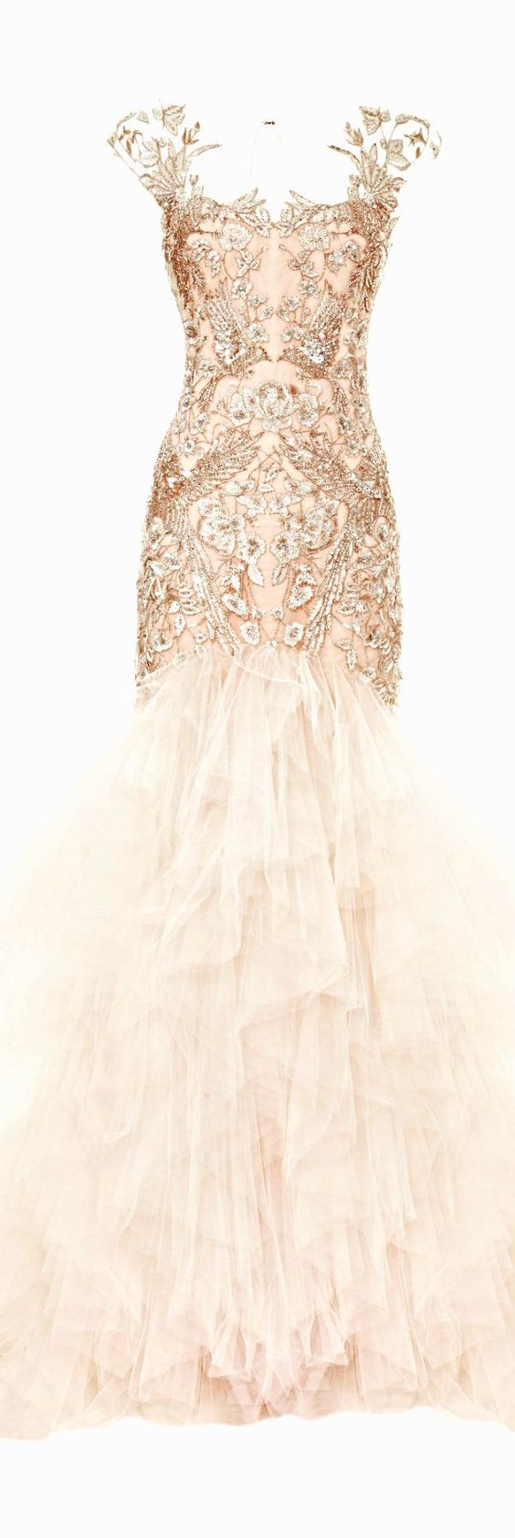 rose gold wedding gown glitter wedding dress 40 Rose Gold Metallic Wedding Color Ideas Hi Miss Puff