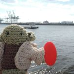 Yoda am Hafen Hamburg