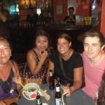 Mit Freunden auf der Khao San