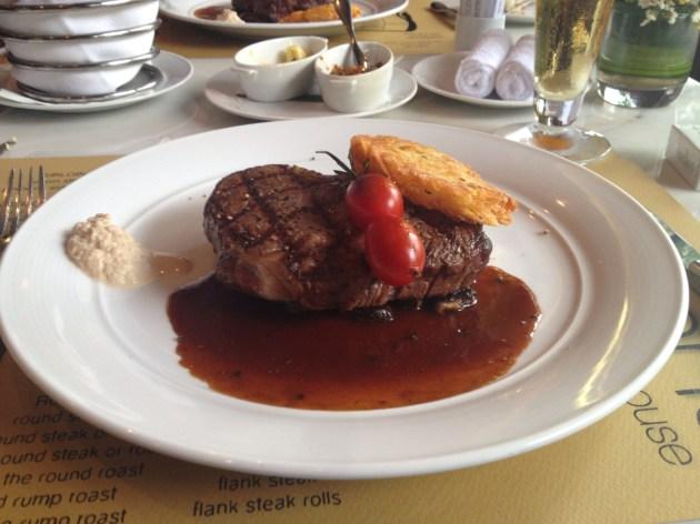 Steak in Jacksons Steakhouse