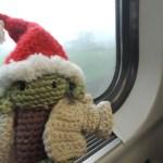 Yoda im Zug
