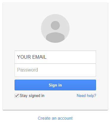 gmail is se login kare