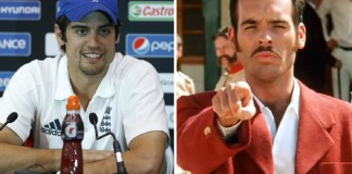Team India - Captain cook and Russel