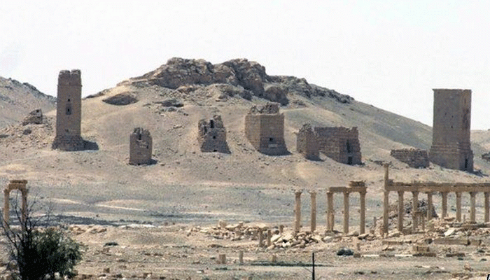 Palmyra Destroyed By ISIS