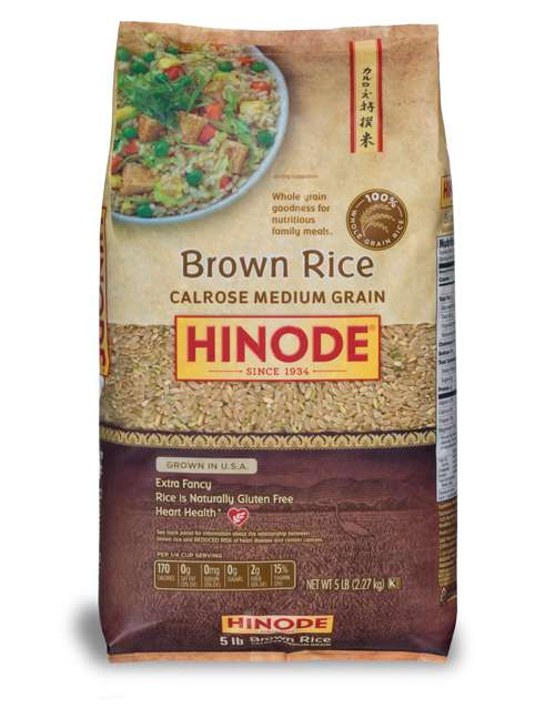 Calrose Medium Whole Grain Brown Rice