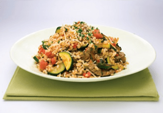 Hinode rice: Italian Vegetable and Rice Puttanesca Recipe
