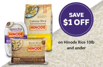 Hinode dollar off coupon