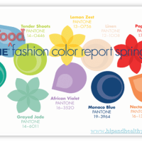 A Fashionable Plate – Spring 2013 Pantone Food Pairings