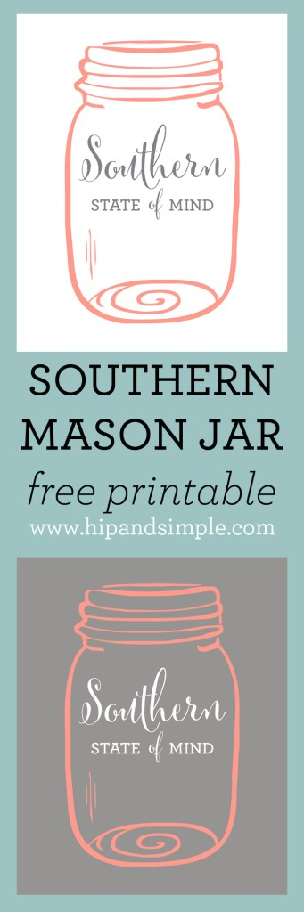 Southern State of Mind free printable