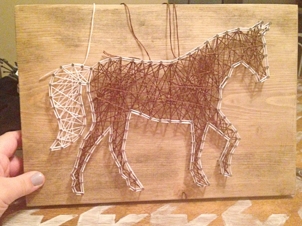 How to make string art - 15