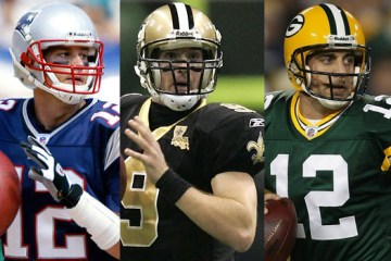 Tom Brady, Drew Brees and Aaron Rodgers can all make the argument that they are the best QB in the NFL. See which signal caller we select for the NFL All-HHSR Super Team.