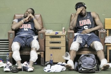 Al Jefferson's injury meant Wade and LeBron basically got a bye in the first round of the playoffs.