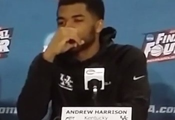 Andrew Harrison's comment we beyond dumb. So too was much of the backlash.