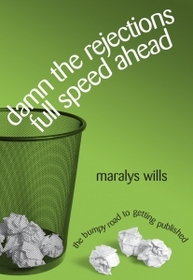 Damn-the-rejections-cover trash can with wadded up papers inside