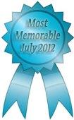 most memorable ribbon July 2012