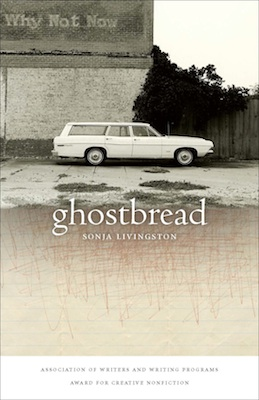 ghostbread cover old station wagon against old bulding
