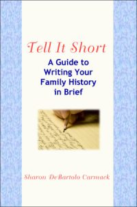 cover of tell it short