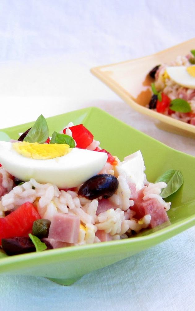 Italian Rice Salad Pressure Cooker Recipe