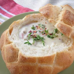 15 Minute New England Clam Chowder