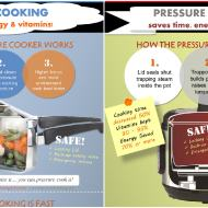 Pressure Cooking Saves Time, Energy and Vitamins!