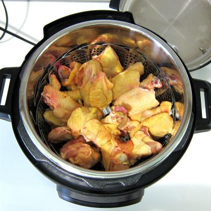 Spicy wings pressure cooker recipe.