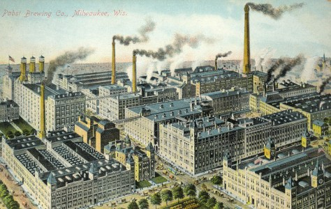 Pabst Brewery around 1900