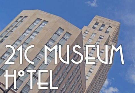 21c Museum Hotel Durham, North Carolina Art Deco