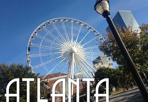 Atlanta with text
