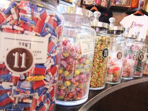 Hipstorical: Eleven City Diner Chicago Candy Counter