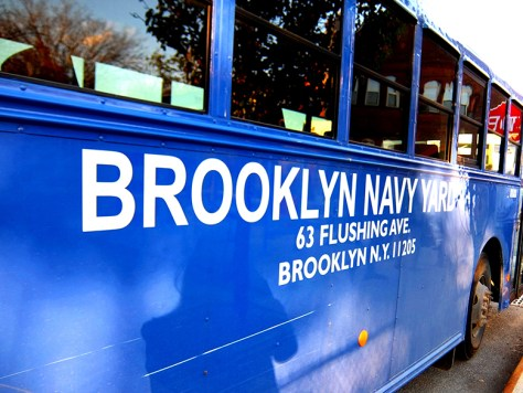 Brooklyn Navy Yard Bus - Hipstorical