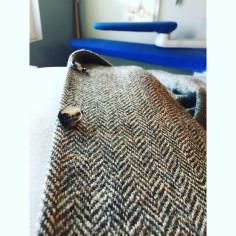 Stunningly beautiful: Harris Tweed