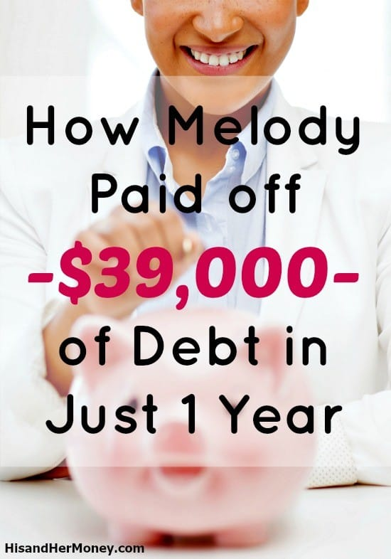 How Melody Paid Off Her Debt