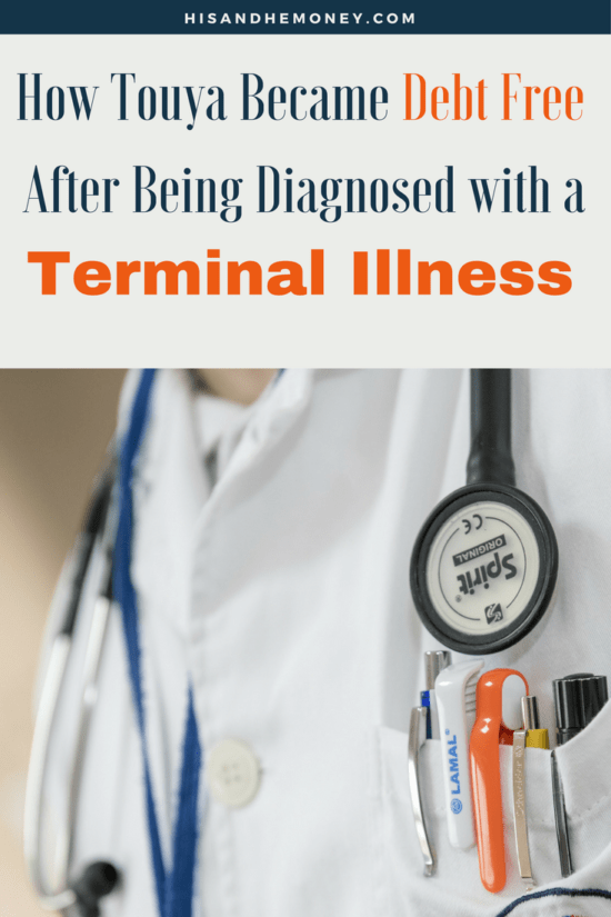How Touya Became Debt Free After Being Diagnosed with a Terminal Illness!