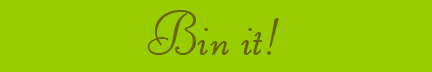 """Bin it!"" blog post banner"