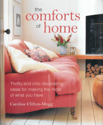 "cover of ""Comforts of Home"" by Caroline Clifton-Mogg"