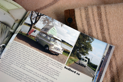 page in My Cool Campervan featuring a Bedford CA campervan
