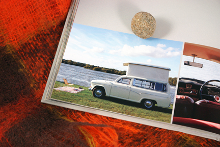page in My Cool Campervan featuring a Morris A60 campervan