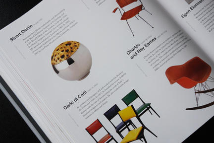 collection of vintage mid-century modern chairs including examples designed by Charles and Ray Eames and Carlo di Carli