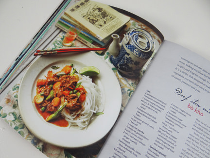 "beef stew recipe in ""My Vietnamese Kitchen"" cookery book"