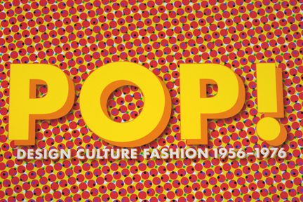 title page of Pop! Design, Culture, Fashion book