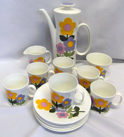 Dolly Days coffee set for sale on eBay for Charity by & in support of Greenwich & Bexley Community Hospice