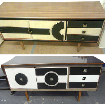pair of H Lait & Sons sideboards for sale on eBay for Charity