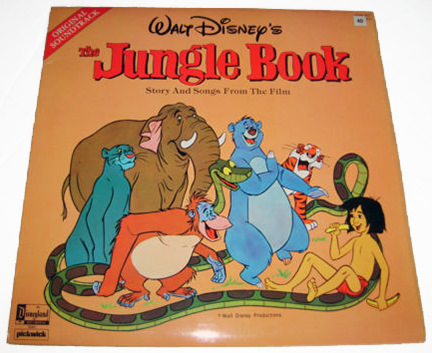 vintage Jungle Book LP