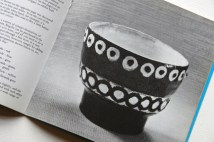 page from a vintage craft booklet showing handmade pot