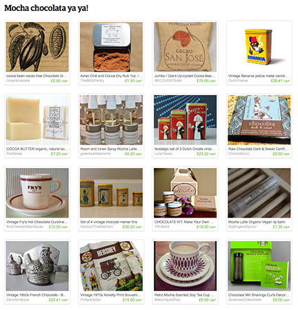 'Mocha chocolata ya ya!' Etsy List by H is for Home