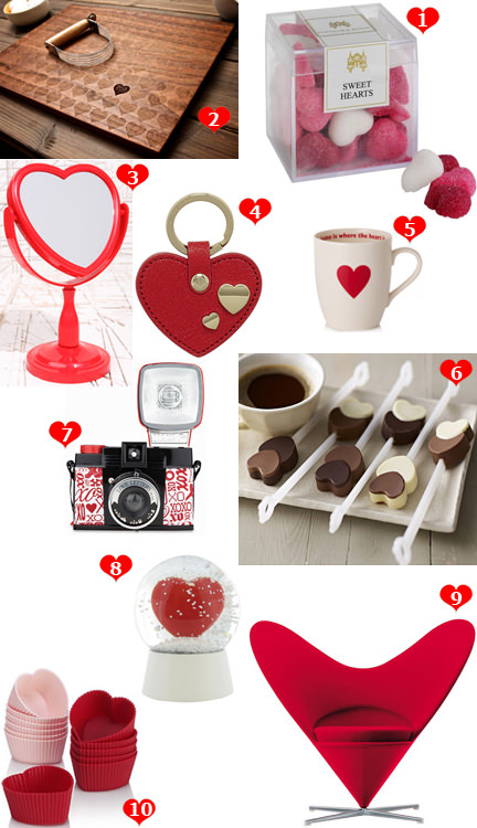 selection of alternative Valentine's Day gifts