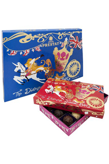 Prestat Jubilee box of truffles