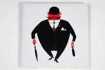 vintage 1960s city gent tile designed by Kenneth Townsend