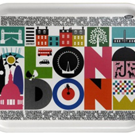 London design tea tray designed by Maria Holmer Dahlgren