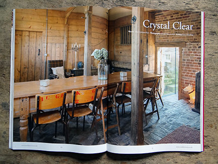 'Crystal Clear' article in the February 2014 edition of the Wealden Times magazine